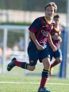 Nico jogando pelo Barcelona (Foto: Reprodução/mundodeportivo)