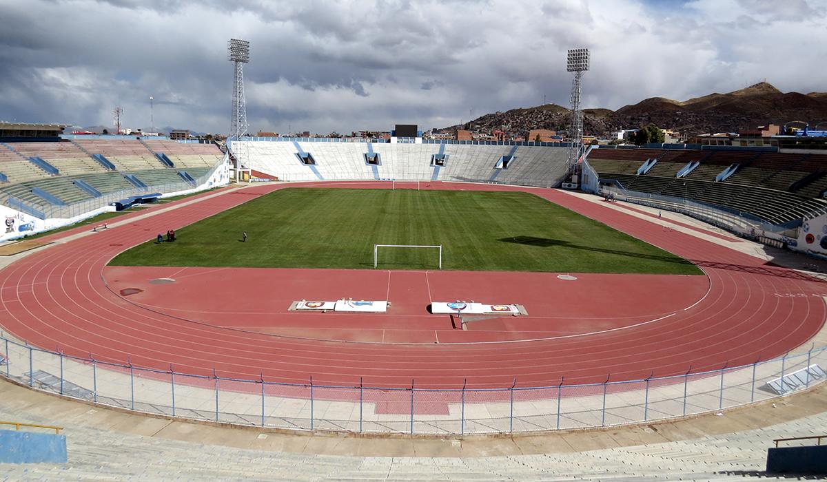 Estádio Jesús Bermúdez (Foto: Reprodução)