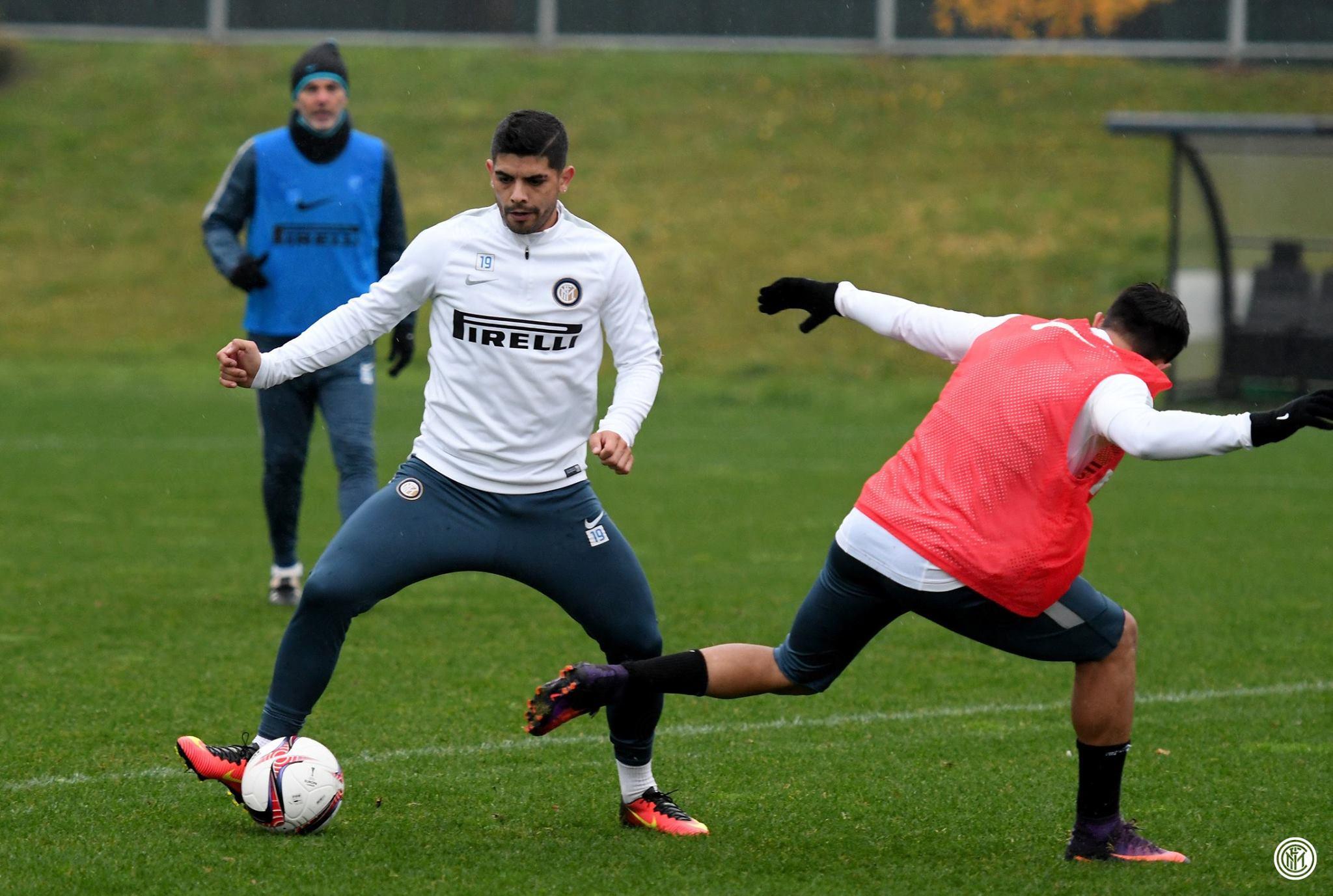 Banega, principal contratação da Inter para a temporada (Foto: Divulgação/Inter)