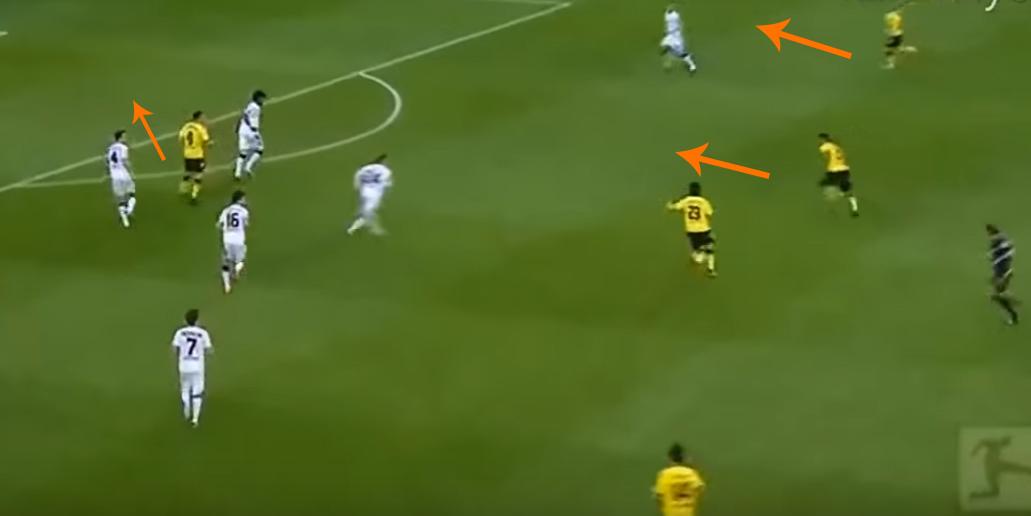 Dortmund x Monchengladbach, em 2012. (Foto: Reprodução)