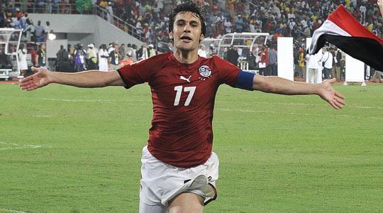 O ídolo egípcio Ahmed Hassan (Foto: Divulgação/CAN)