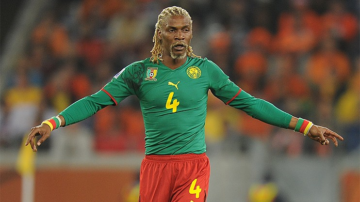 Rigobert Song é um ícone do futebol camaronês (Foto: Divulgação/CAN)