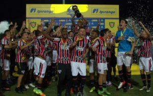São Paulo levou a Copa Ipiranga 2016 (Foto: Divulgação/AnnaCrisFoFotografia)
