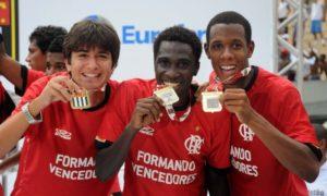 Flamengo levou o título em 2011 (Foto: Divulgação/flamengo)