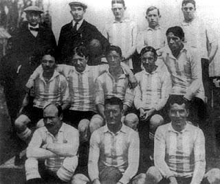 """Argentina em 1908, com 4 """"Browns"""" (Foto: Reprodução)"""
