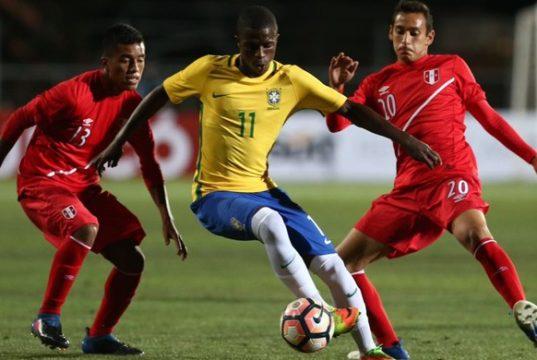 Vinicius Junior - Sul-Americano Sub-17
