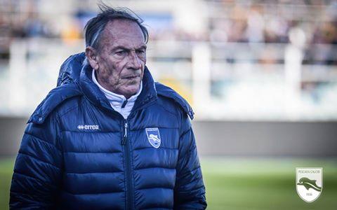 Aos 69 anos, Zeman coleciona destacadas passagens pelo calcio (Foto: Divulgação/Pescara)