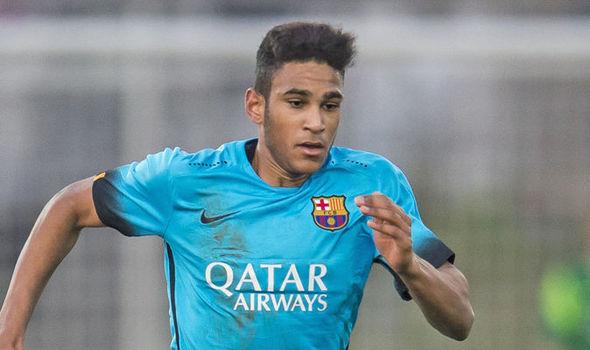 Jordi Mboula é uma das estrelas da competição (Foto: Divulgação/FC Barcelona)