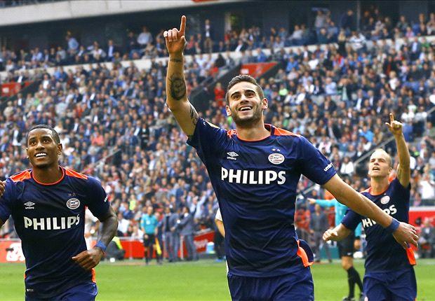 Gastón Pereiro, 21 anos, meia-atacante do PSV (Foto: Reprodução)