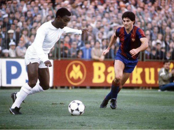 A partida que consagrou Cunningham, em 1980 (Foto: Reprodução)