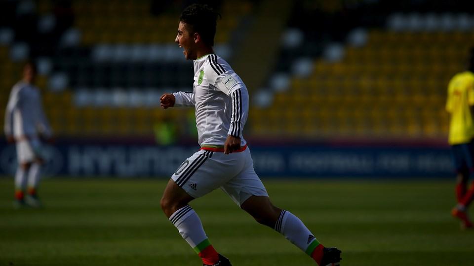 Zamudio já se destacou no último Mundial Sub-17 (Foto: Divulgação/FIFA)