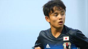 Com apenas 15 anos, Kubo pode surpreender (Foto: Divulgação/JFF)