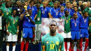 Camarões x França 2003