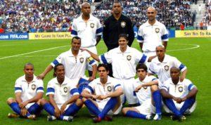 Brasil 2004 uniforme branco