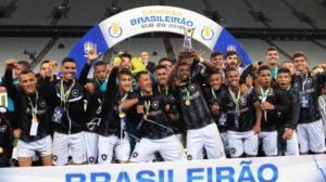 Brasileiro Sub-20 do ano passado foi conquistado pelo Bota (Foto: Divulgação/CBF)