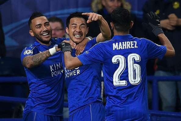 Leicester fez bonito em sua primeira Champions (Foto: Divulgação)