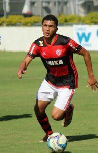 Vitor Gabriel é o goleador rubro-negro (Foto: Reprodução/Twitter)