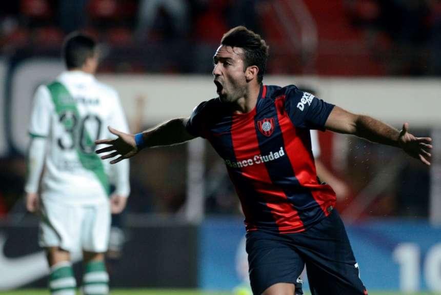 Cauteruccio foi importante no título da Libertadores do San Lorenzo (Foto: Reprodução)