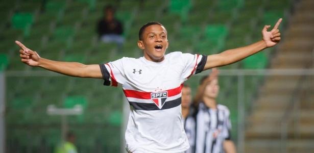 Paulinho é um dos destaques da base tricolor (Foto: Divulgação/SPFC)