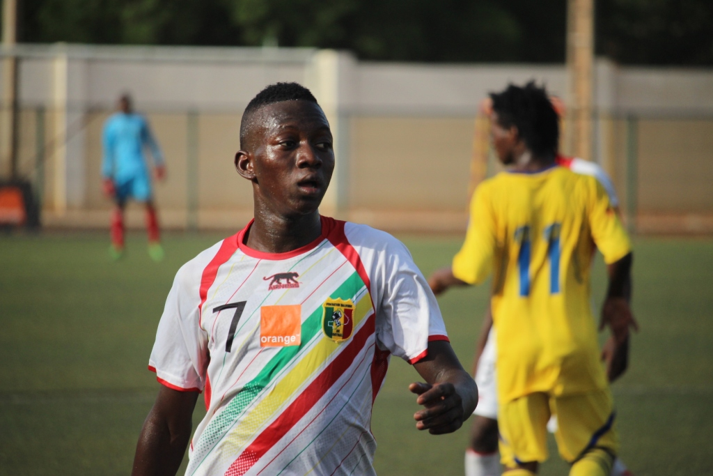 Dramé é o artilheiro malinês (Foto: Reprodução)