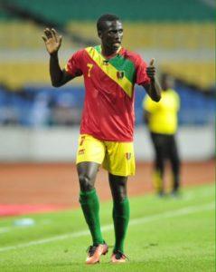 Djibril é a grande aposta da Guiné (Foto: Reprodução)