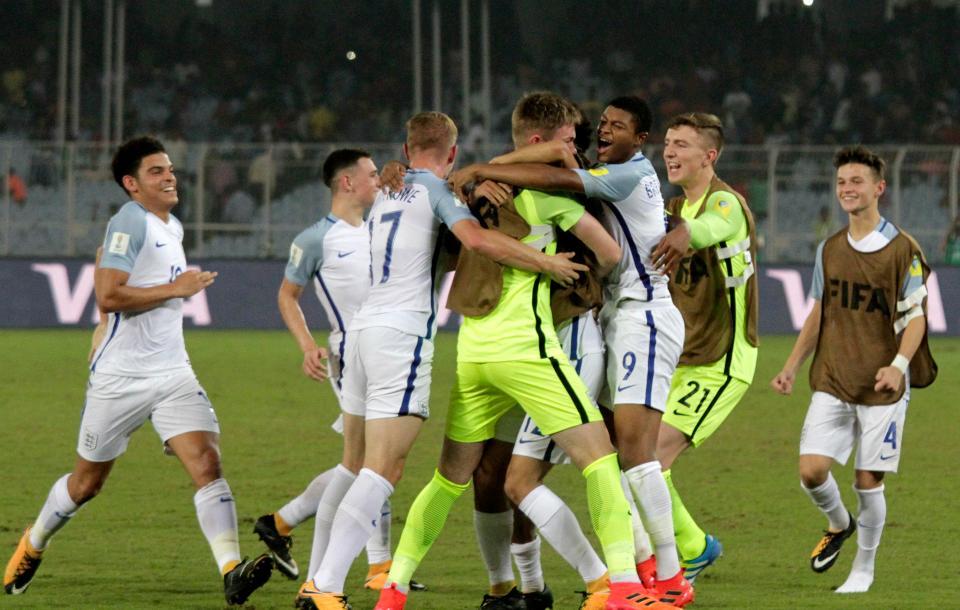 Chegou a hora  A fantástica geração inglesa campeã mundial sub-17 ... a58d5bd24d994