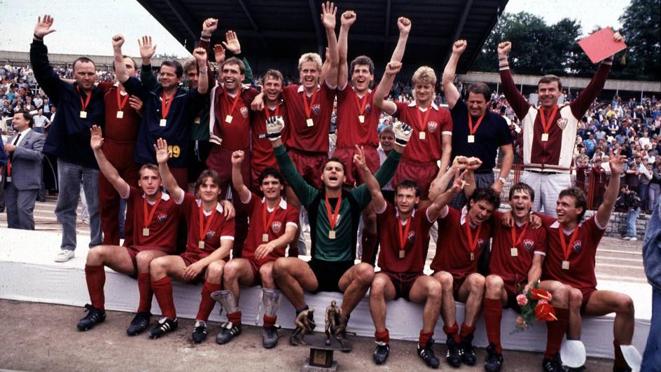 Dynamo comemora um dos seus títulos nacionais (Foto: Reprodução)