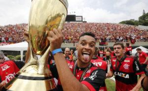 Flamengo ficou com o tetracampeonato (Foto: Reprodução/Flamengo)