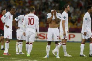 Inglaterra x Itália Euro 2012