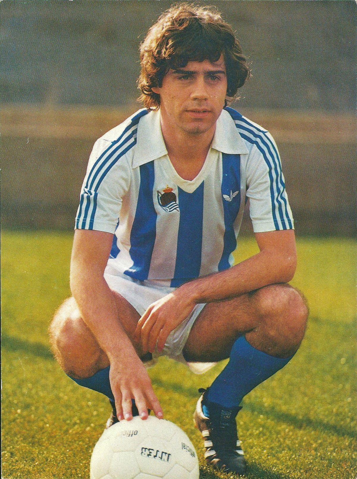 O drilador Lopes Ufarte era um dos destaques da Real Sociedad (Foto: Reprodução)