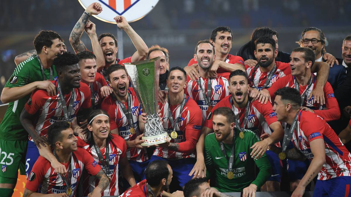 Europa League coroou mais uma vez o Atletico de Simeone (Foto: Reprodução)