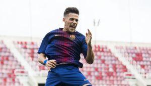 Pérez é um dos bons talentos da geração no Barcelona (Foto: Repordução/mundodeportivo.com)
