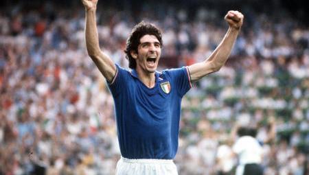 Paolo Rossi, o símbolo da Itália de 1982 (Foto: Reprodução)