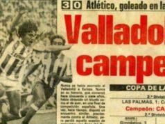 Real Valladolid 1984