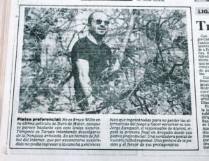 Jorge Sampaoli árvore