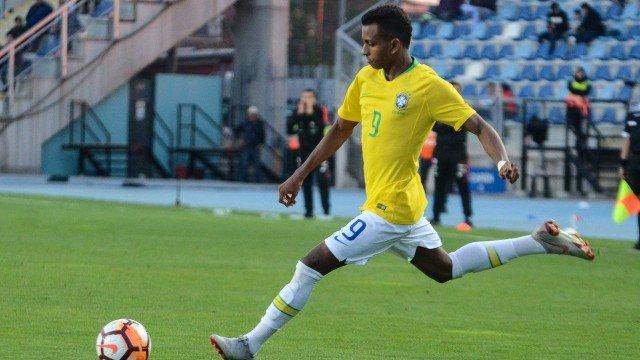 Depois de um grande 2018 pelo Santos, Rodrygo é a grande estrela da seleção (Foto: Divulgação/CBF)