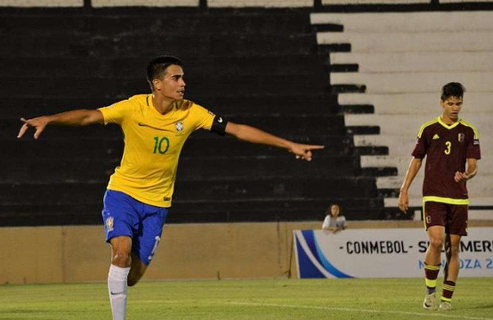 Reinier é a grande estrela do Brasil (Foto: Reprodução)