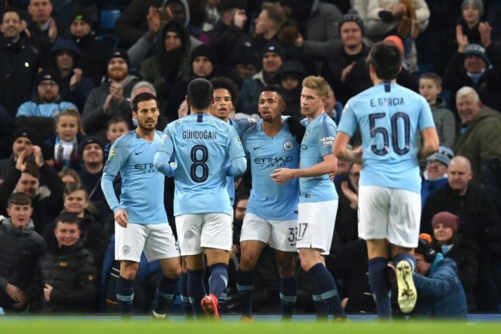 City é o atual líder do Campeonato Inglês com 91 gols marcados em 37 jogos.