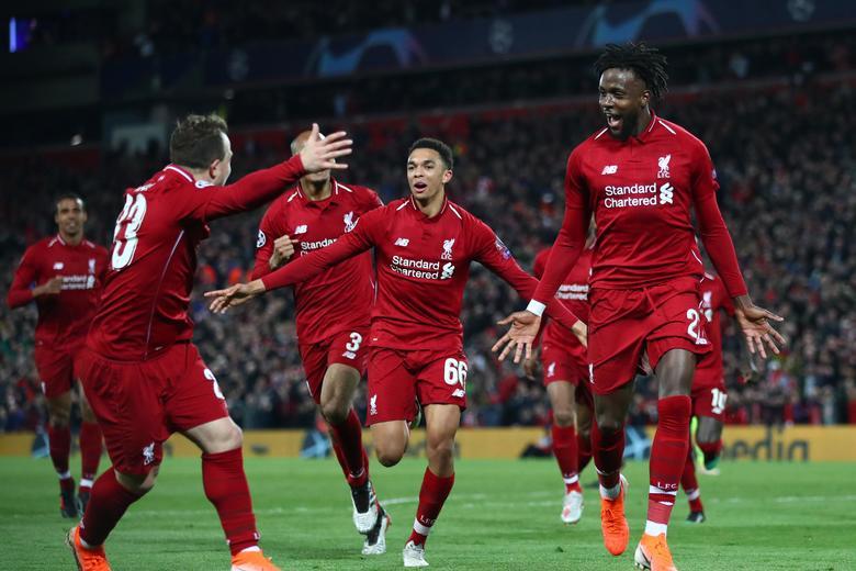 Liverpool é vice-líder do Inglês com campanha devastadora, além de finalista da Liga dos Campeões (Foto: Reprodução)