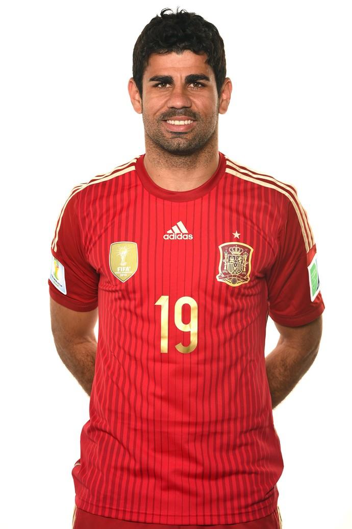 Diego Costa - Brasil e Espanha